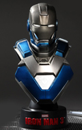Iron Man 3 - Mark XXX Blue Steel Bust