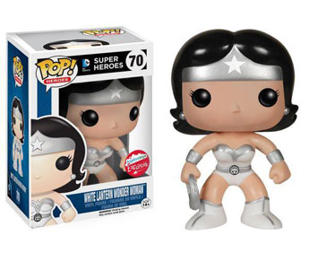 DC Super Heroes - White Lantern Wonder Woman (Underground Toys Exclusive)