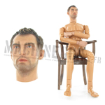Figurine nue Vassily alias Jude Law