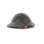 Mark I steel helmet weathered