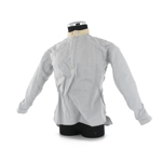 Collarless Greyback Shirt weathered