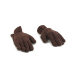Flexibles Gloved Hands (Brown)