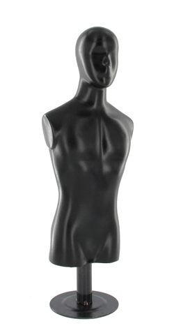 Black bust with head