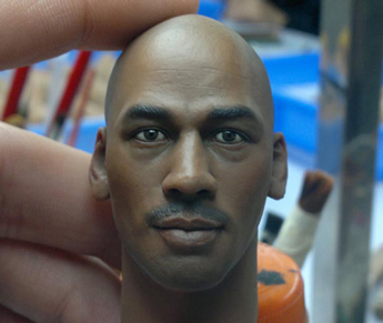 Headsculpt Michael Jordan