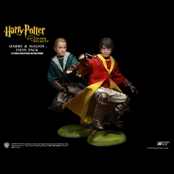 Harry Potter - Harry Potter & Draco Malfoy Pack (Quidditch Version)