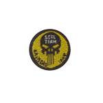 Patch Punisher Seal Team (Jaune)
