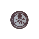 Patch Barrett Rect Wrecking Crew (Marron)