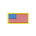 Patch drapeau US (Rouge)