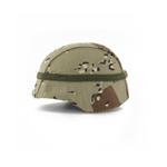 PASGT helmet with DESERT STORM camo cover
