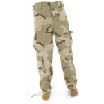 Pantalon BDU camouflage désert trois couleurs