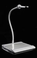 Display Stand tige mobile 30cm (Blanc)