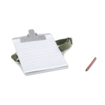 Notepad with Pencil (Grey)