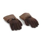 Mains flexibles gantées (Marron)