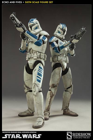 Star Wars - Clone Troopers Echo and Fives Set