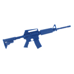 M4 extended stock M4 blue gun training carbine blue