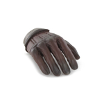 Gloved Right Hand Type A (Brown)