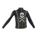 Pirate Leather Vest (Black)