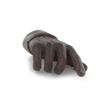 Gloved Right Hand Type C (Brown)
