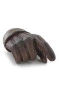 Gloved Right Hand Type D (Brown)