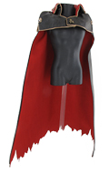 Cape Battle Damaged (Noir)