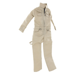 Female Work Coverall (Beige)