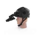 Roller helmet with Night vision goggle