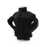 Black polar vest