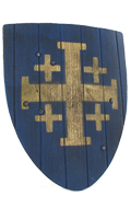 Knight Shield (Blue)