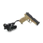 P226R Pistol with retention lanyard (Tan)