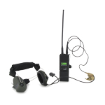 MBTIR Radio with U94PTT and Sordin Suprem Pro Meckband Headset