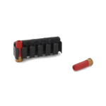 Shotgun Shell Holder with Cartridges (Red)