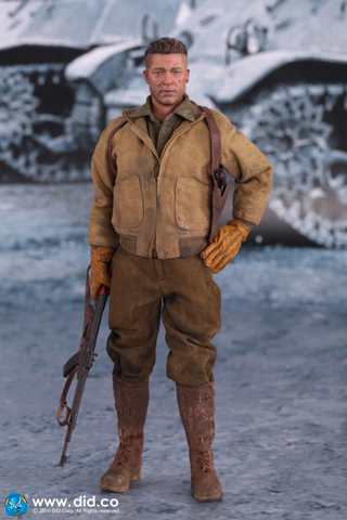 DID WWII SGT Donald hell on Wheels Head Sculpt 1//6 Toys 3R Dam