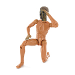 USSOCOM Navy SEAL UDT woodland version nude body Viggo Mortensen headscult