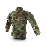 Navy SEAL woodland BDU jacket