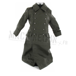 Leather officer greatcoat