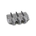 Chargeur de flèches aimanté en métal (Argent)