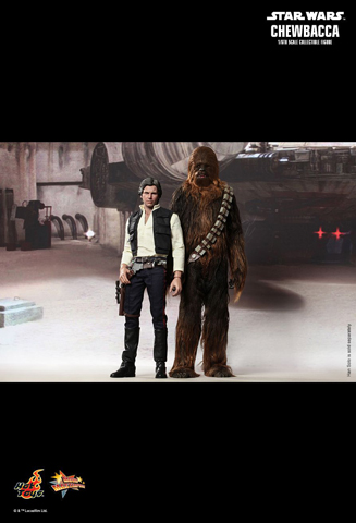 Star Wars Episode VII - Han Solo & Chewbacca Pack