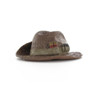 Crocodile skin bush hat