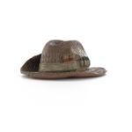 Chapeau de brousse en crocodile