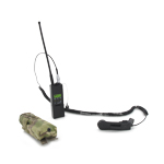 MBITR Radio w/Handset and Multicam Radio