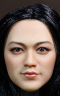 Asian Female Headsculpt (Brown)