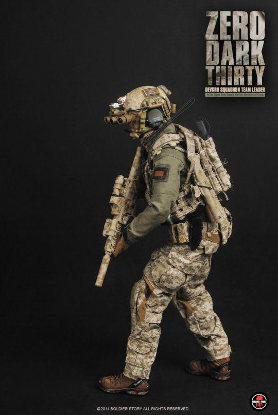 figurine 16 zero dark thirty devgru squadron team