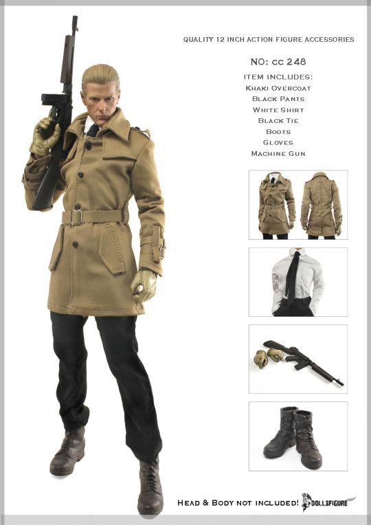 fa1b63ab3862 Set vêtements d espionnage - Machinegun