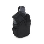 Canteen with Pouch (Black)