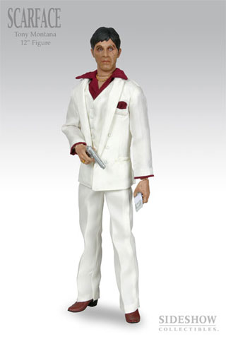 Scarface - Tony Montana (White Suit Version)