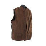 Waistcoat (Brown) (Very Large Size)