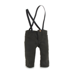 Bib Pants (Grey) (Small Size)