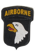 Screaming Eagle 101st Airborne Patch
