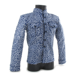 Patterned Shirt (Blue)