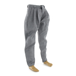 Pantalon de costume large (Gris)
